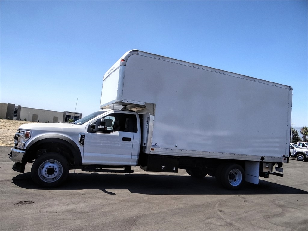 2020 Ford F-550 Regular Cab DRW 4x2, Marathon FRP High Cube Dry Freight #FL2195 - photo 3
