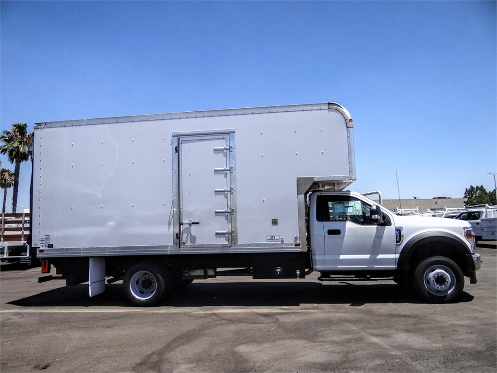2020 Ford F-550 Regular Cab DRW 4x2, Marathon FRP High Cube Dry Freight #FL2195 - photo 5