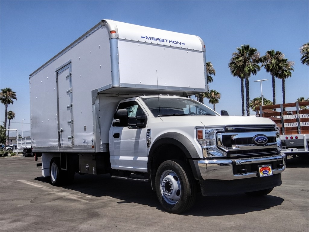 2020 Ford F-550 Regular Cab DRW 4x2, Marathon FRP High Cube Dry Freight #FL2195 - photo 6
