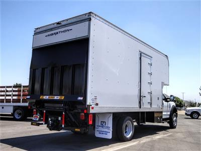 2020 Ford F-550 Regular Cab DRW 4x2, Marathon FRP High Cube Dry Freight #FL2195 - photo 4