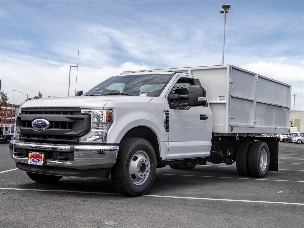 2020 Ford F-350 Regular Cab DRW 4x2, Scelzi Landscape Dump #FL2197 - photo 1