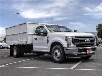 2020 Ford F-350 Regular Cab DRW 4x2, Scelzi Landscape Dump #FL2197 - photo 6