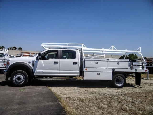 2020 Ford F-450 Crew Cab DRW 4x2, Scelzi CTFB Contractor Body #FL2199 - photo 3