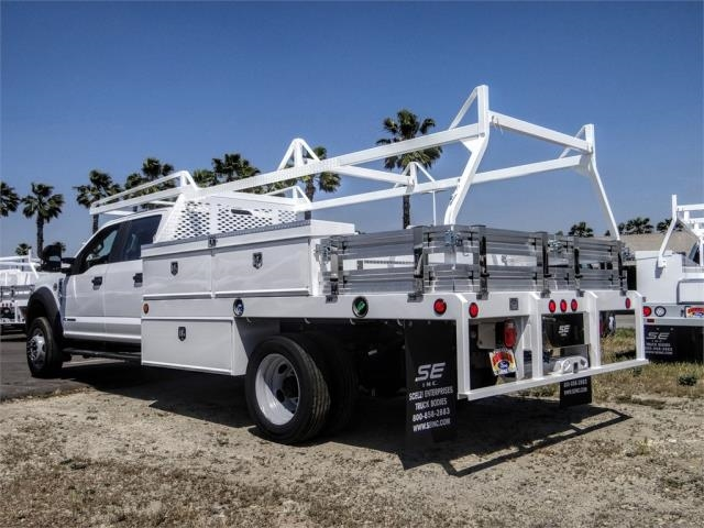 2020 Ford F-450 Crew Cab DRW 4x2, Scelzi CTFB Contractor Body #FL2199 - photo 2