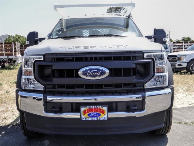 2020 Ford F-450 Crew Cab DRW 4x2, Scelzi CTFB Contractor Body #FL2199 - photo 6