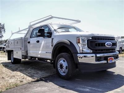 2020 Ford F-450 Crew Cab DRW 4x2, Scelzi CTFB Contractor Body #FL2199 - photo 5
