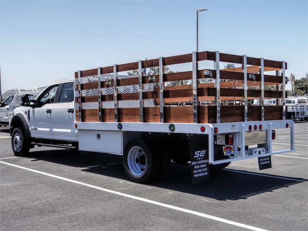 2020 Ford F-450 Crew Cab DRW 4x2, Scelzi Stake Bed #FL2200 - photo 2