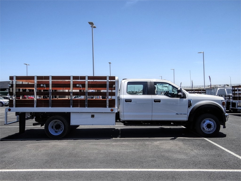 2020 Ford F-450 Crew Cab DRW 4x2, Scelzi WFB Stake Bed #FL2200 - photo 5