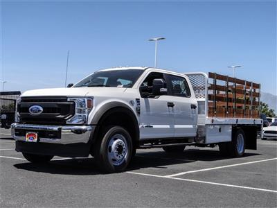 2020 Ford F-450 Crew Cab DRW 4x2, Scelzi WFB Stake Bed #FL2200 - photo 1
