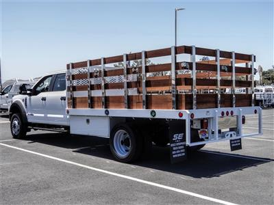 2020 Ford F-450 Crew Cab DRW 4x2, Scelzi WFB Stake Bed #FL2200 - photo 2