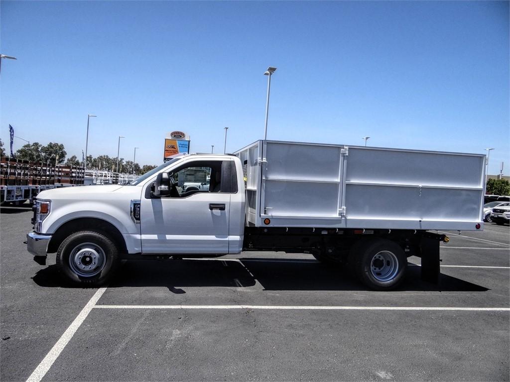 2020 Ford F-350 Regular Cab DRW 4x2, Scelzi Landscape Dump #FL2203 - photo 3
