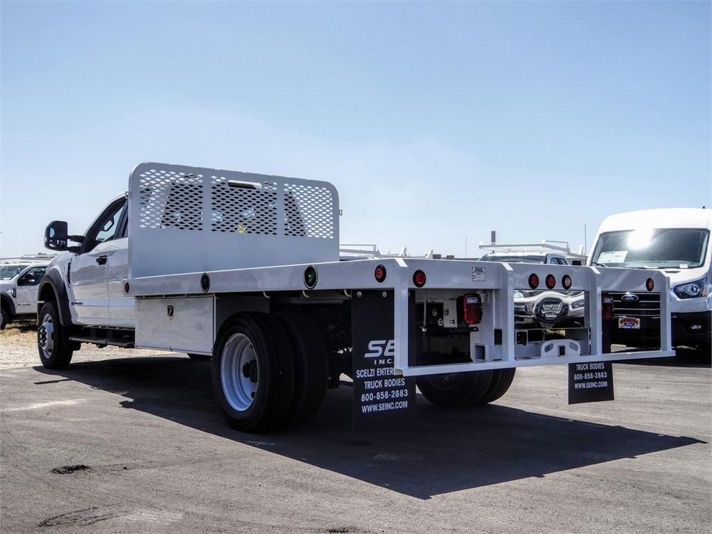 2020 Ford F-450 Super Cab DRW 4x2, Scelzi WFB Flatbed #FL2207 - photo 2