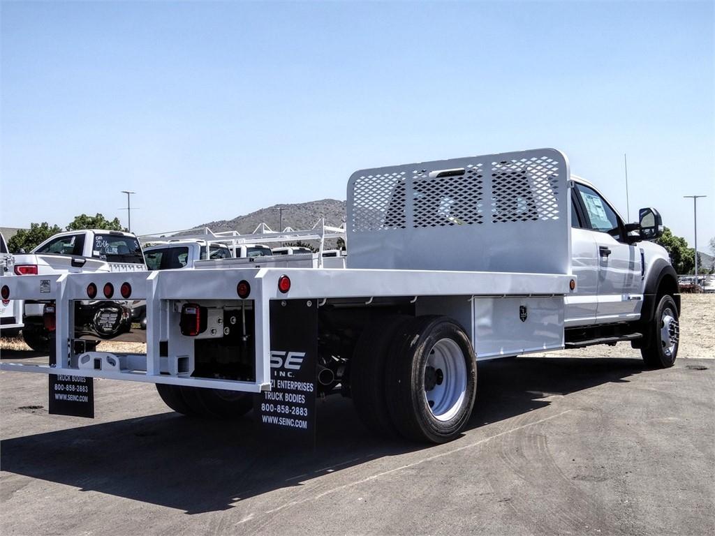 2020 Ford F-450 Super Cab DRW 4x2, Scelzi WFB Flatbed #FL2207 - photo 4