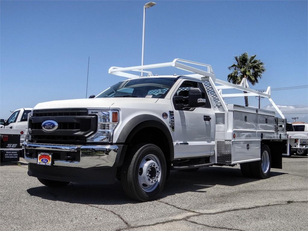 2020 Ford F-450 Regular Cab DRW 4x2, Scelzi CTFB Contractor Body #FL2235 - photo 1