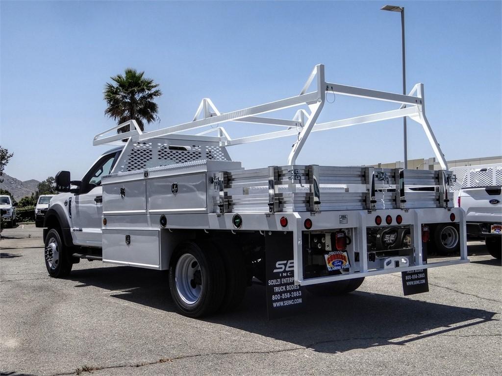 2020 Ford F-450 Regular Cab DRW 4x2, Scelzi CTFB Contractor Body #FL2235 - photo 2