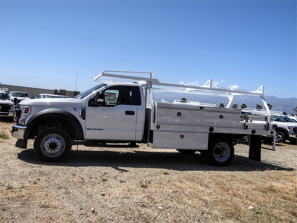 2020 Ford F-450 Regular Cab DRW 4x2, Scelzi CTFB Contractor Body #FL2239 - photo 3