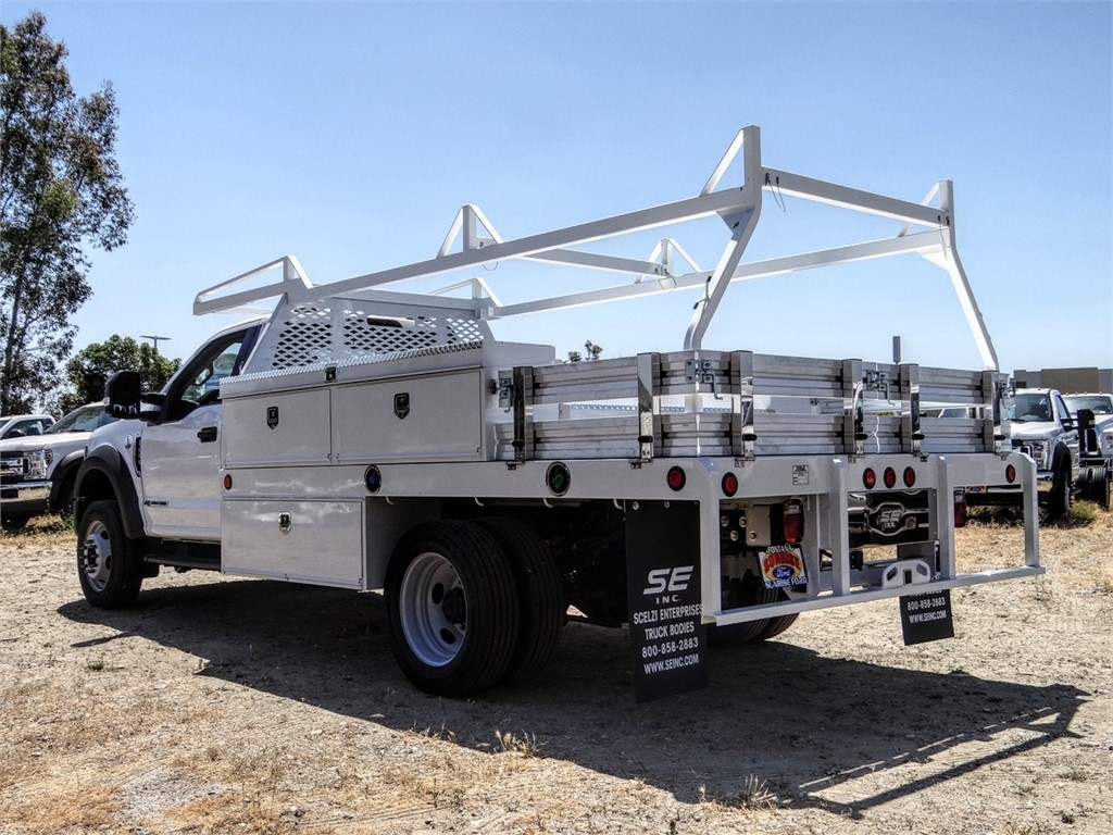 2020 Ford F-450 Regular Cab DRW 4x2, Scelzi CTFB Contractor Body #FL2239 - photo 2