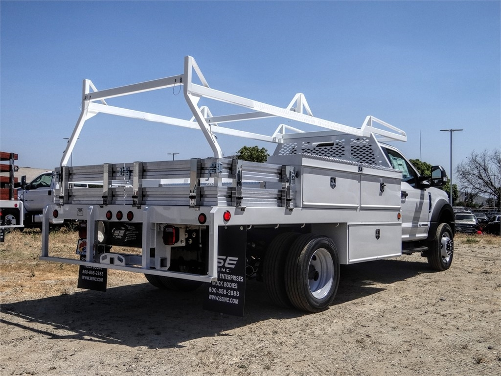 2020 Ford F-450 Regular Cab DRW 4x2, Scelzi CTFB Contractor Body #FL2239 - photo 4