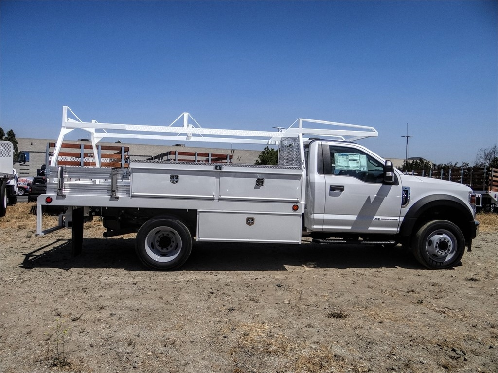 2020 Ford F-450 Regular Cab DRW 4x2, Scelzi CTFB Contractor Body #FL2239 - photo 5