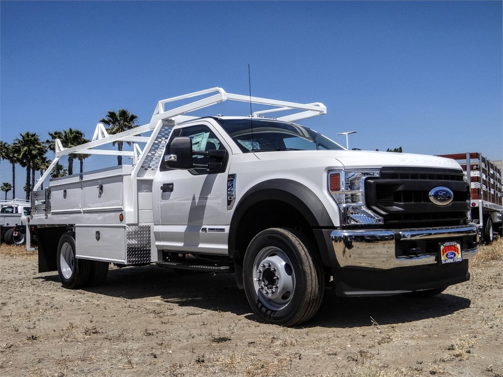2020 Ford F-450 Regular Cab DRW 4x2, Scelzi CTFB Contractor Body #FL2239 - photo 6