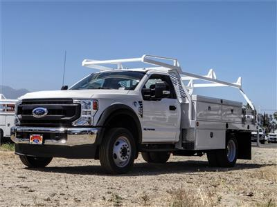 2020 Ford F-450 Regular Cab DRW 4x2, Scelzi CTFB Contractor Body #FL2239 - photo 1