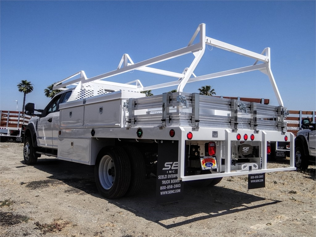 2020 Ford F-450 Super Cab DRW 4x2, Scelzi Contractor Body #FL2242 - photo 1