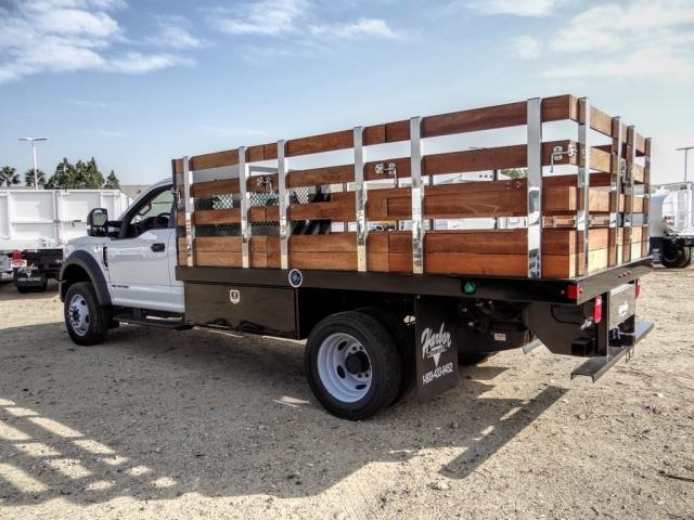 2020 Ford F-450 Regular Cab DRW 4x2, Harbor Black Boss Stake Bed #FL2272 - photo 2