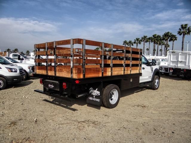 2020 Ford F-450 Regular Cab DRW 4x2, Harbor Black Boss Stake Bed #FL2272 - photo 5