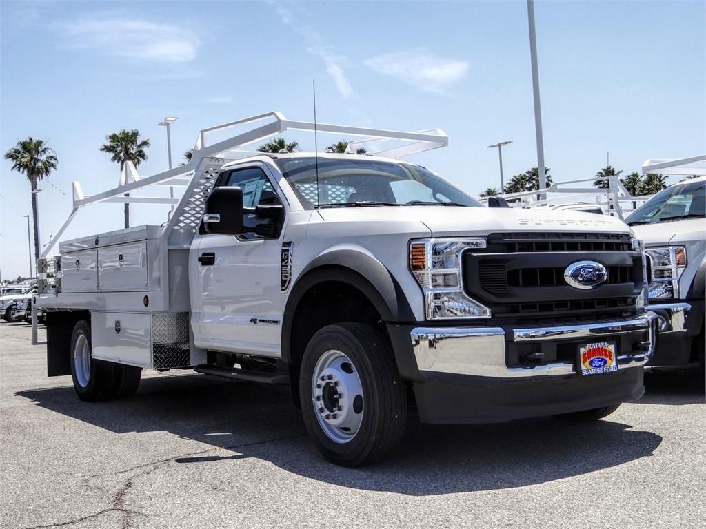 2020 F-450 Regular Cab DRW 4x2, Scelzi CTFB Contractor Body #FL2272 - photo 6