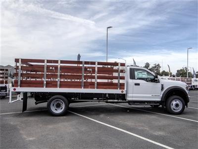 2020 Ford F-450 Regular Cab DRW 4x2, Scelzi WFB Stake Bed #FL2276 - photo 5