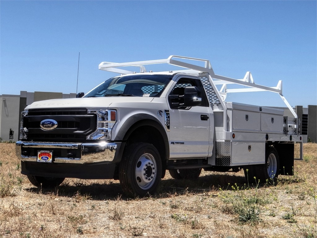 2020 Ford F-450 Regular Cab DRW 4x2, Scelzi CTFB Contractor Body #FL2278 - photo 1