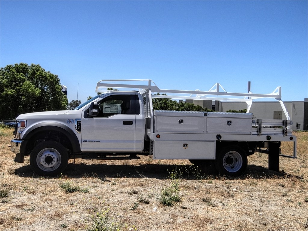 2020 Ford F-450 Regular Cab DRW 4x2, Scelzi CTFB Contractor Body #FL2278 - photo 3