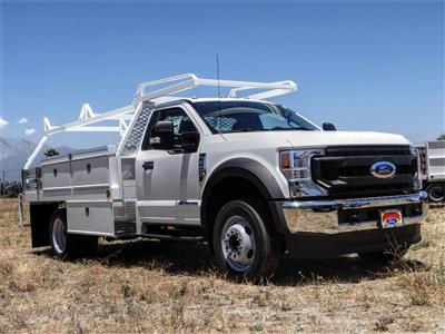 2020 Ford F-450 Regular Cab DRW 4x2, Scelzi CTFB Contractor Body #FL2278 - photo 6