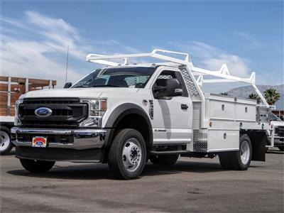 2020 Ford F-450 Regular Cab DRW 4x2, Scelzi CTFB Contractor Body #FL2279 - photo 1