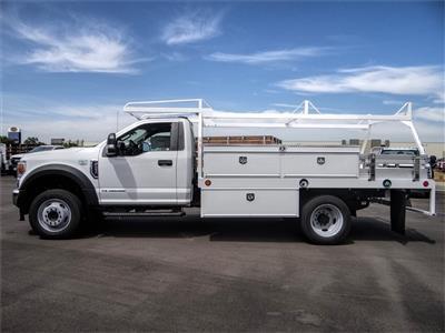 2020 Ford F-450 Regular Cab DRW 4x2, Scelzi CTFB Contractor Body #FL2279 - photo 3