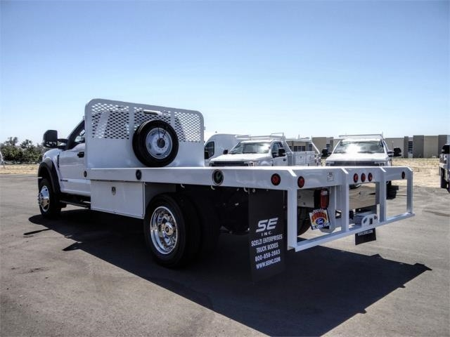2020 Ford F-550 Regular Cab DRW 4x2, Scelzi WFB Flatbed #FL2318 - photo 2