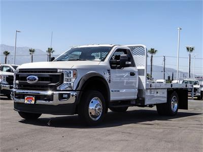 2020 Ford F-550 Regular Cab DRW 4x2, Scelzi WFB Flatbed #FL2318 - photo 1