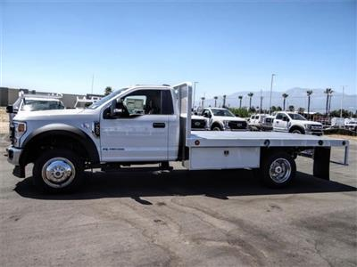 2020 Ford F-550 Regular Cab DRW 4x2, Scelzi WFB Flatbed #FL2318 - photo 3