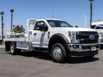 2020 Ford F-550 Regular Cab DRW 4x2, Scelzi WFB Flatbed #FL2318 - photo 6