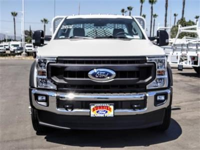 2020 Ford F-550 Regular Cab DRW 4x2, Scelzi WFB Flatbed #FL2318 - photo 7