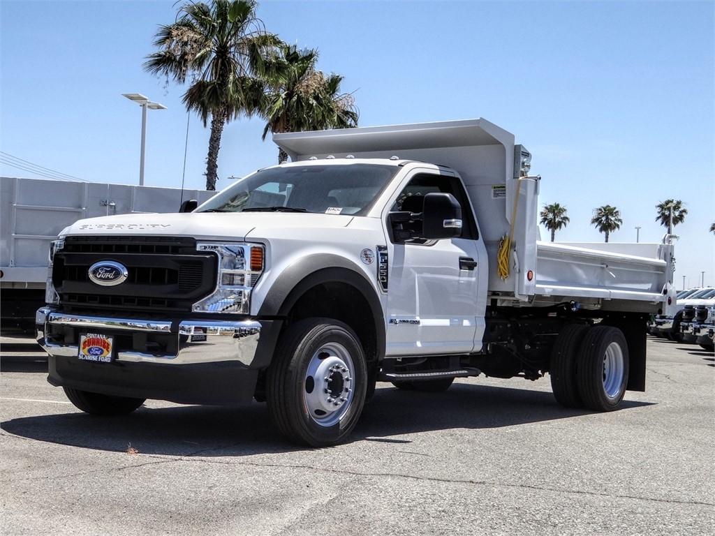 2020 Ford F-550 Regular Cab DRW 4x2, Scelzi Dump Body #FL2429 - photo 1