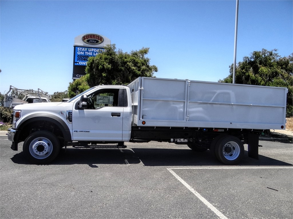 2020 Ford F-550 Regular Cab DRW 4x2, Scelzi Landscape Dump #FL2430 - photo 3