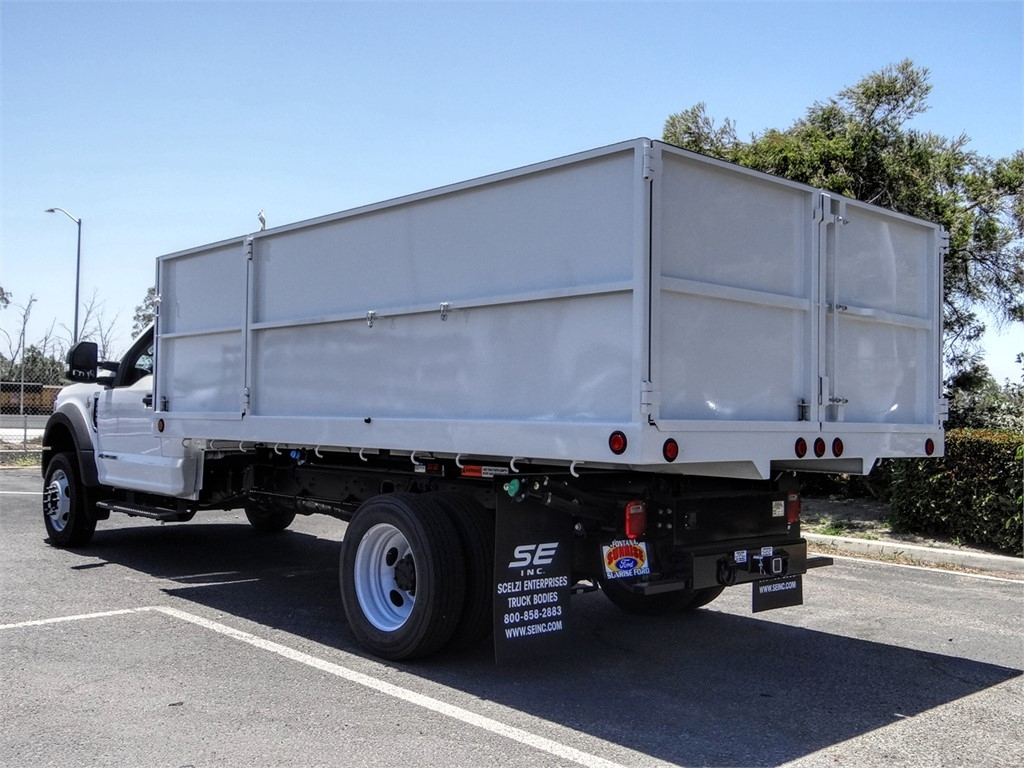 2020 Ford F-550 Regular Cab DRW 4x2, Scelzi Landscape Dump #FL2430 - photo 2