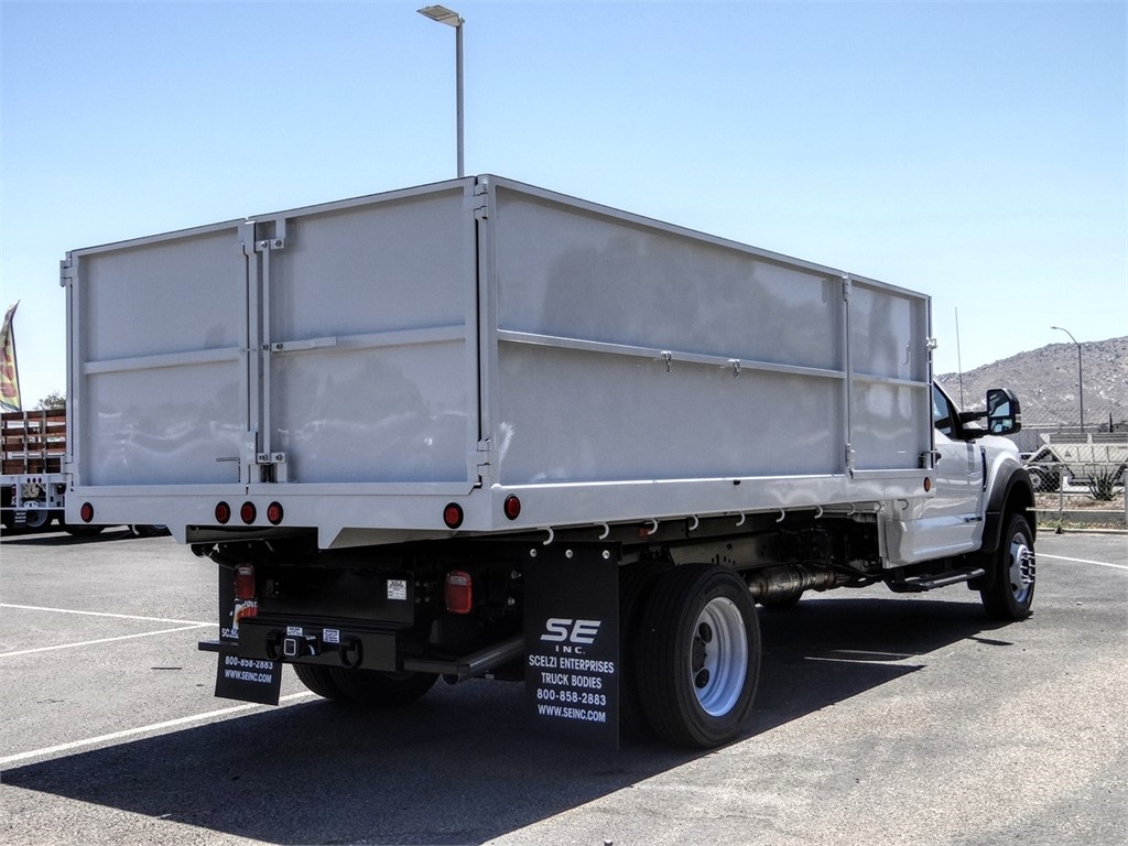 2020 Ford F-550 Regular Cab DRW 4x2, Scelzi Landscape Dump #FL2430 - photo 4