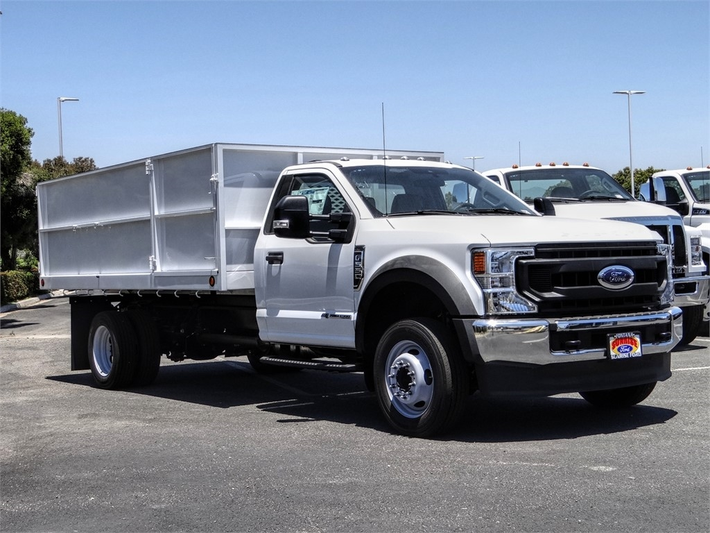 2020 Ford F-550 Regular Cab DRW 4x2, Scelzi Landscape Dump #FL2430 - photo 6