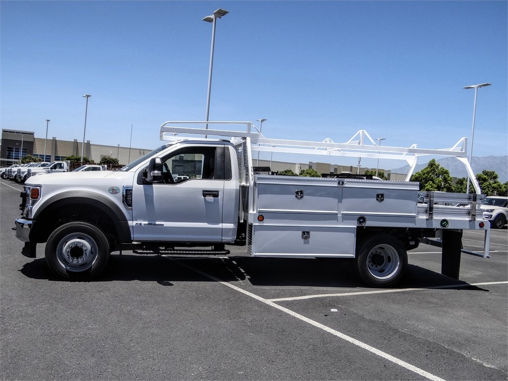 2020 Ford F-450 Regular Cab DRW 4x2, Scelzi CTFB Contractor Body #FL2447 - photo 3