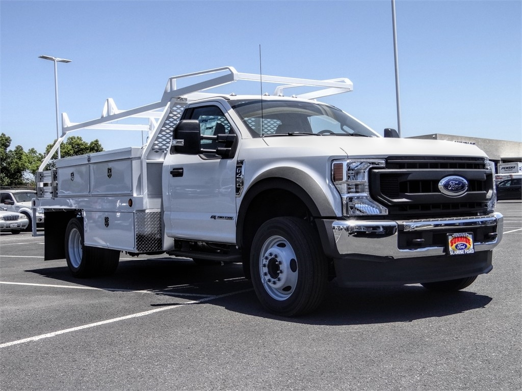 2020 Ford F-450 Regular Cab DRW 4x2, Scelzi CTFB Contractor Body #FL2447 - photo 6