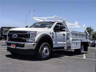 2020 Ford F-450 Regular Cab DRW 4x2, Scelzi CTFB Contractor Body #FL2447 - photo 1