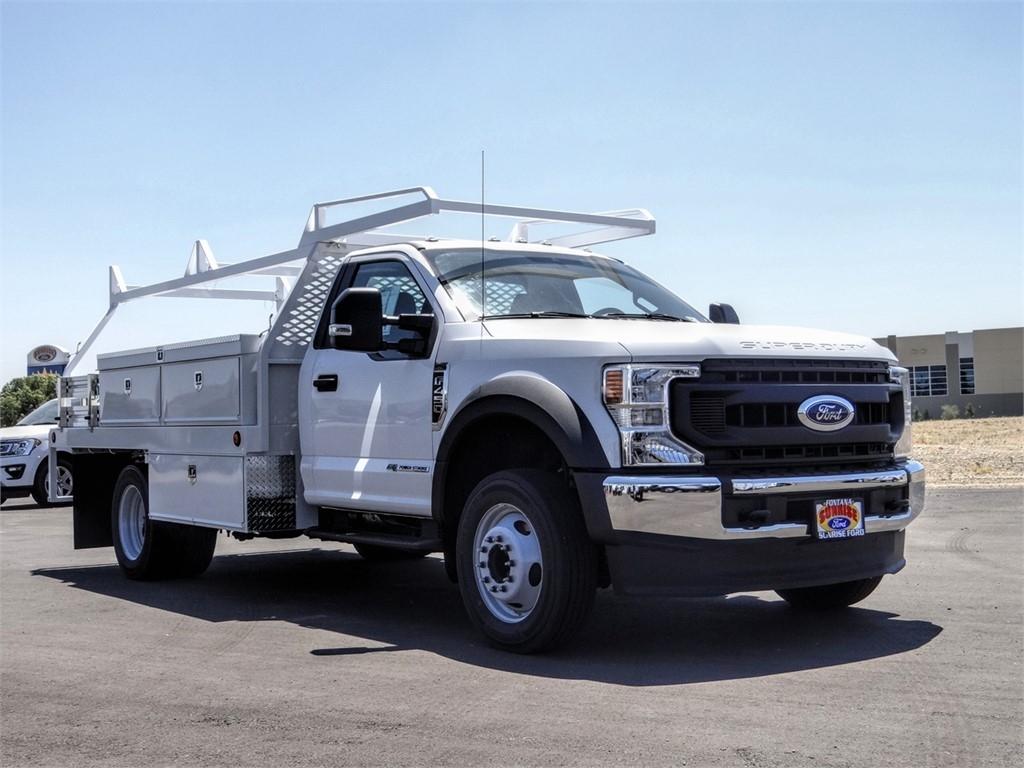2020 Ford F-450 Regular Cab DRW 4x2, Scelzi CTFB Contractor Body #FL2493 - photo 6