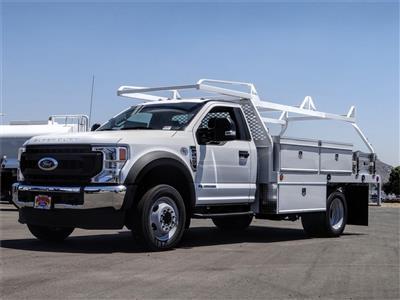 2020 Ford F-450 Regular Cab DRW 4x2, Scelzi CTFB Contractor Body #FL2493 - photo 1